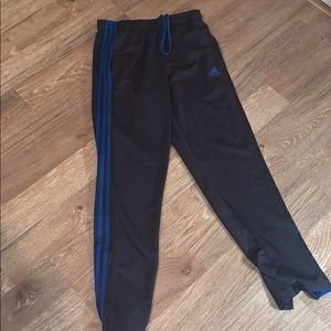 Adidas gray running pants